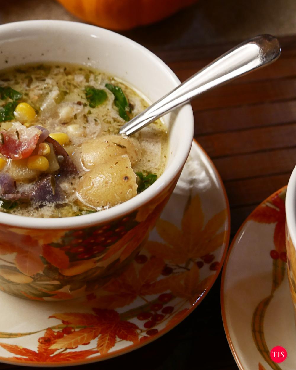 Corn Chowder Recipe by Jennifer Maring