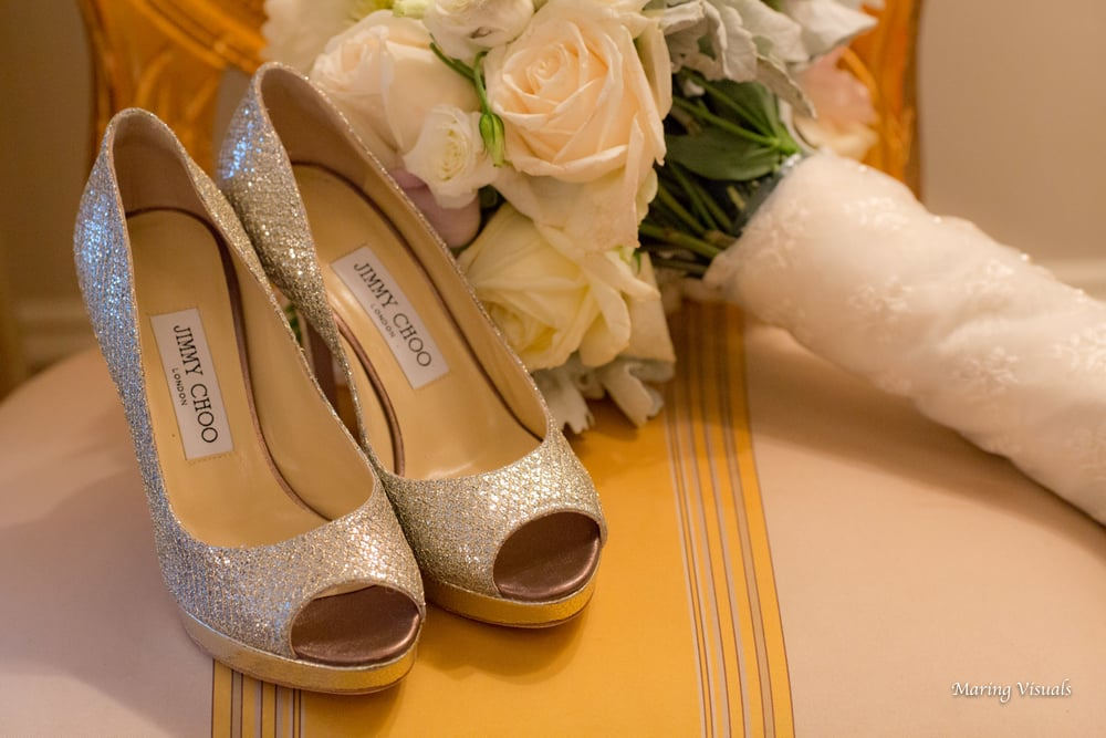 Wedding details at The Plaza Hotel