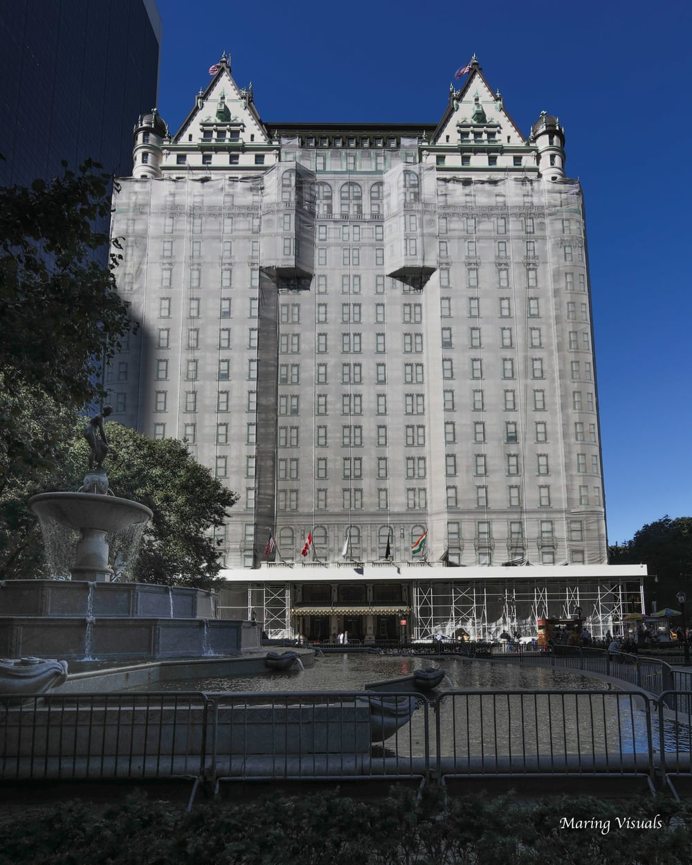 Blue Skies at The Plaza Hotel