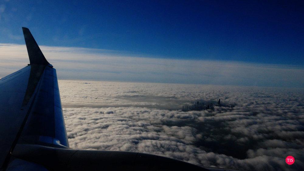 Making a blind landing in Chicago