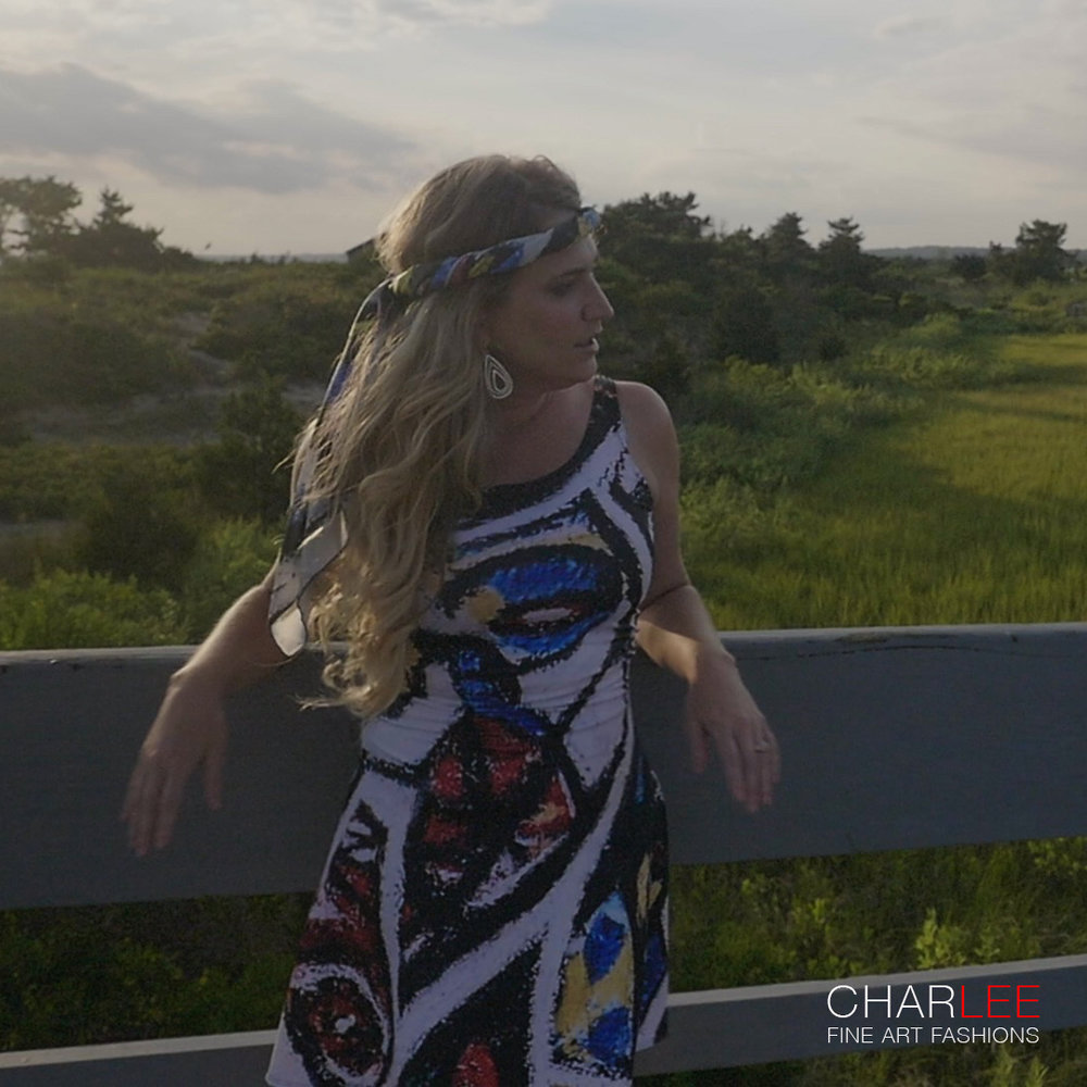 The Messenger Dress by Charlee Fine Art - 01.jpg