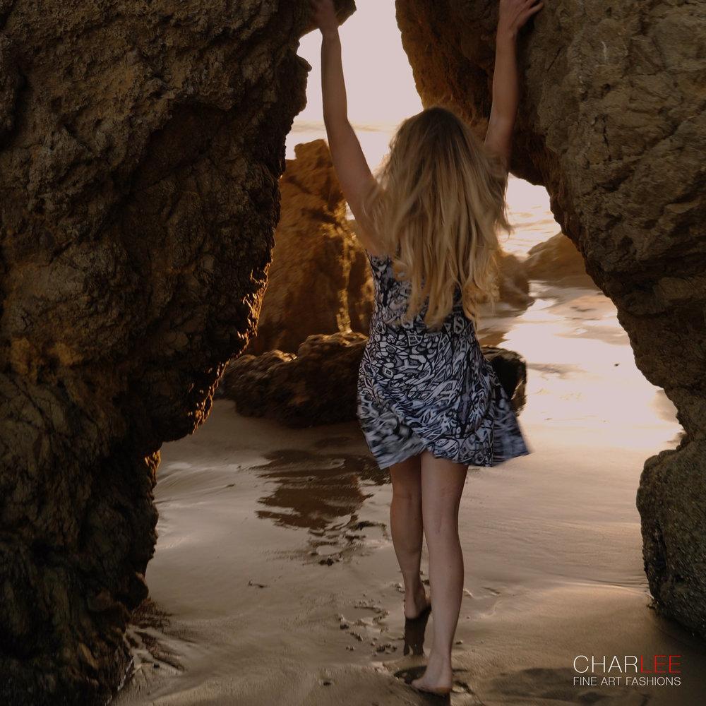 Charlee The Dream Flare Dress BW Malibu CA-01.jpg