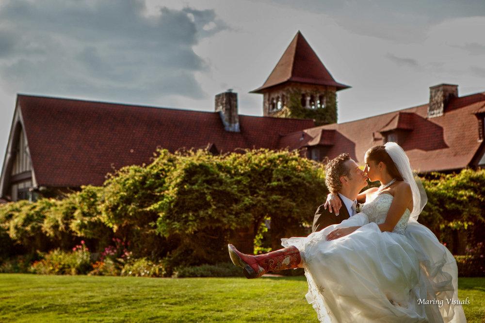 Saint Clements Castle Wedding
