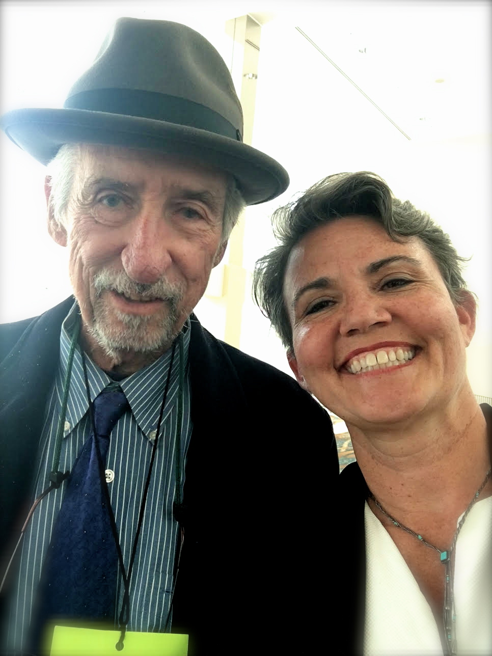 Tom Hayden and Jennifer Hall Lee, Long Beach, CA