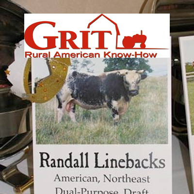 GRIT  August 2, 2008  What's the Beef