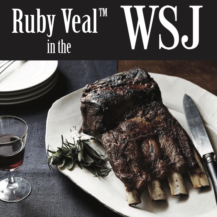 THE WALL STREET JOURNAL December 24, 2015 Why You Might Consider Ordering the Veal (visit WSJ.com)