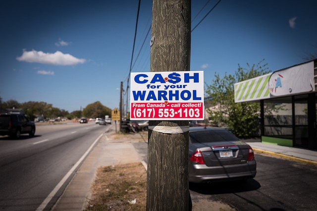 Geoff Hargadon - Cash for Your Warhol
