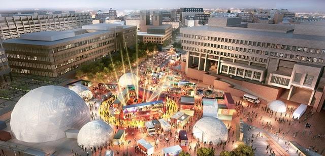 The HUB on City Hall Plaza - HUBWeek 2017