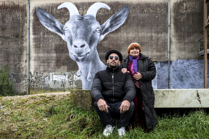 Varda and JR. Image copyright Cohen Media Group.