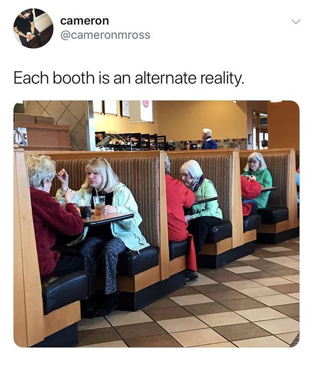 At Applebee's all our customers are treated equally . . . #gameofphones #cardgames #tabletop #boardgames #gaming #game #games #phone #phones #mobile #socialmedia #cards #screenshot #iphone #android #party #partygame #fun #bored #meme #memes #dankmeme #dankmemes #funnymemes #funny #humor #surreal #food #restaurant #reality