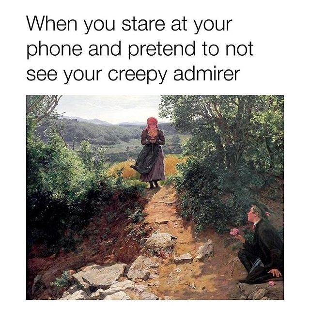 Watch your step . . . #gameofphones #cardgames #tabletop #boardgames #gaming #game #games #phone #phones #mobile #socialmedia #iphone #android #fun #bored #meme #memes #dankmeme #dankmemes #funnymemes #funny #humor #creep #creepy #romance #stalker #dating #flowers #walk #woo