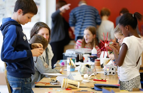 Tijdens   Global Children's Designathon  2014 in Dublin