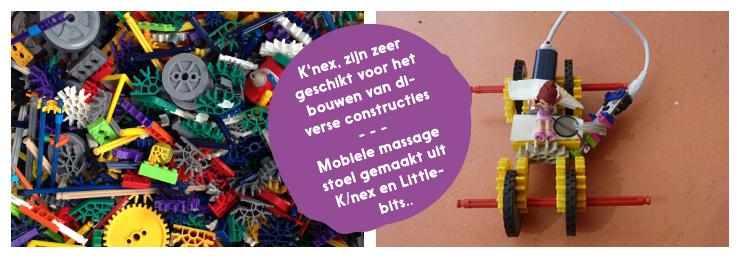 K'NEX: zeer geschikt voor het bouwen van diverse constructies.