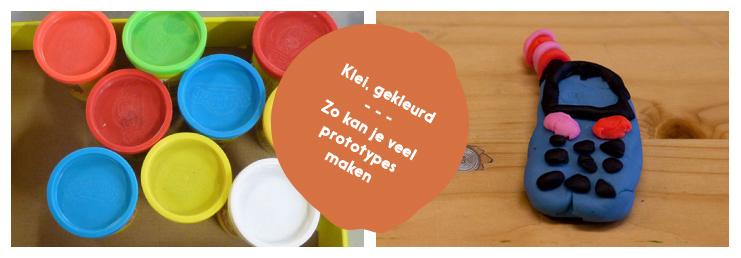 KLEI: in diverse kleuren. Voor de prototypes of onderdelen van je ontwerp.