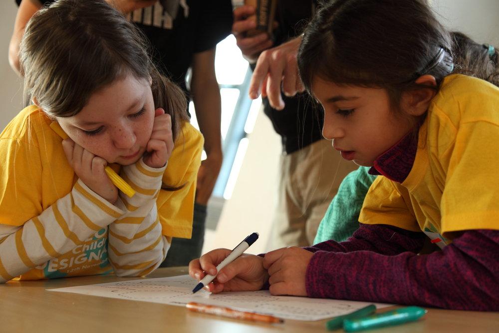 Ontdek de Designathon methode! - Waar kinderen een betere toekomst leren ontwerpen met nieuwe technologieën.