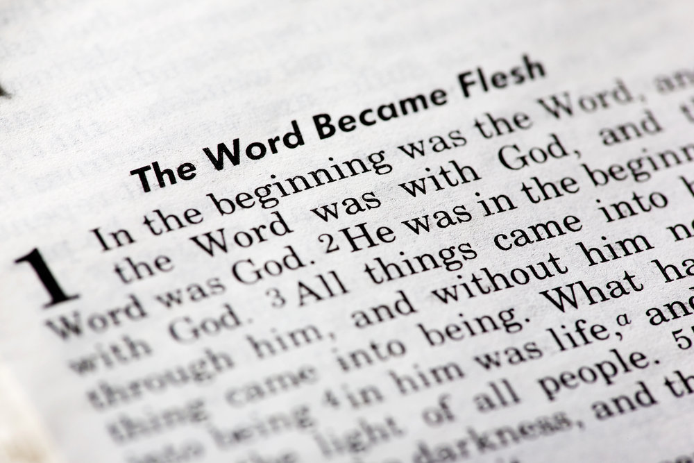 John 1:1-5 The Word Who Was God Sermon Audio podcast