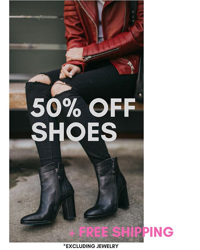 "50% off shoes 👠👢👡👞👟! Use code: ""shoes50"" at check out! . . . . . #pascalineparis #parisianstyle#parisianfashion #fw16 #leatherjackets#parisianchic #parisian #sanfrancisco#alwayssf #pacificheights #vscofashion#pursuepretty #ootd #highfashion #pfw #asseenonme #lux#bts #video #sergepariente #readytowear #cameraready#endofseason #sale #spring #shoegame"