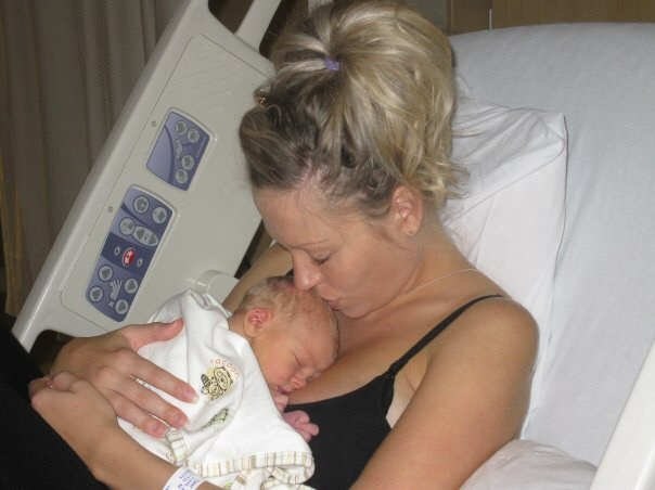 Right after my first born son came into the world.  It still feels like yesterday.