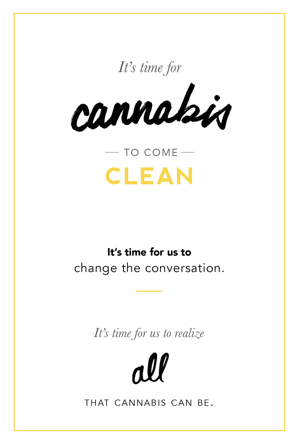 Cannabis Cleanse Quote