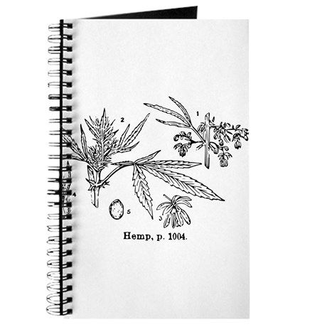 Hemp Journal /  Cafe Press $10