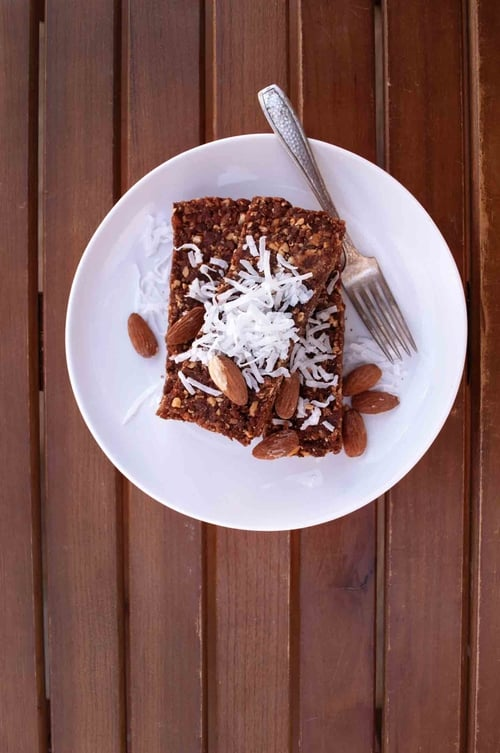 No-Bake Sweet Date Bars