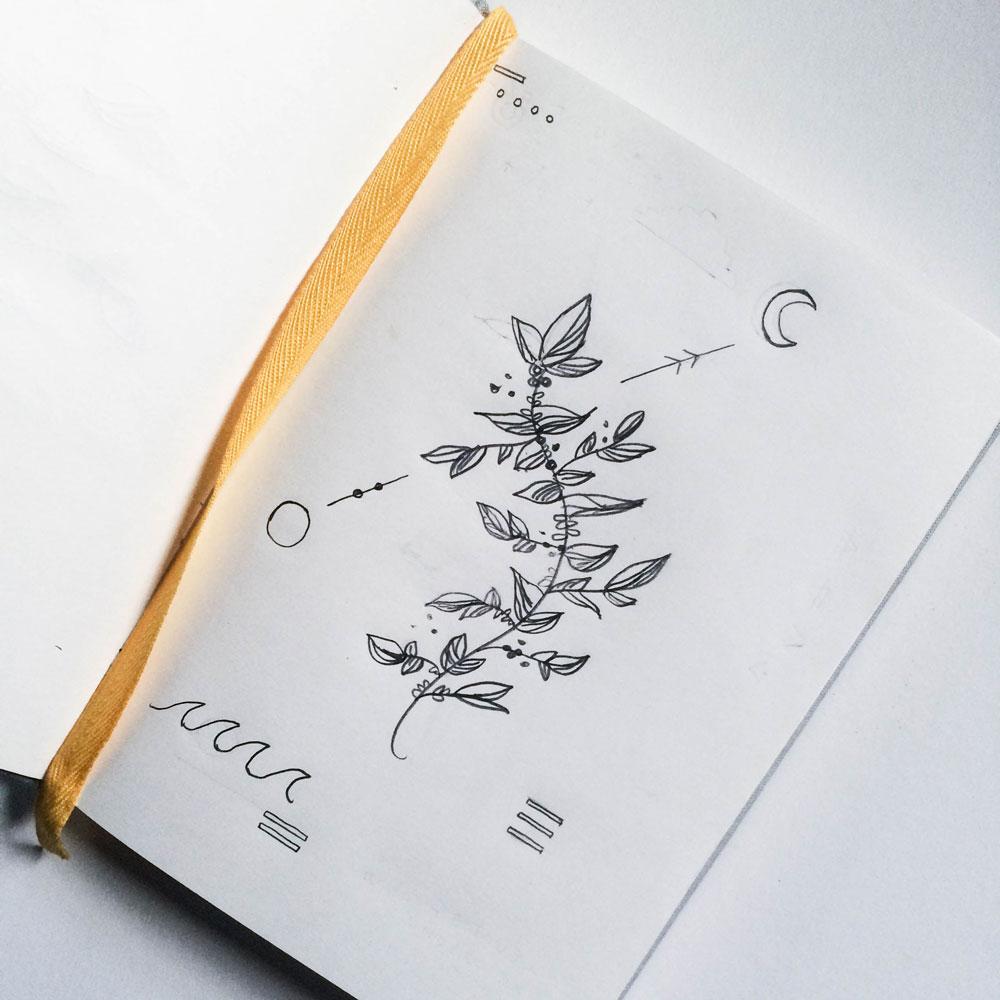 """""""Doodles."""" —Becca Reitz"""