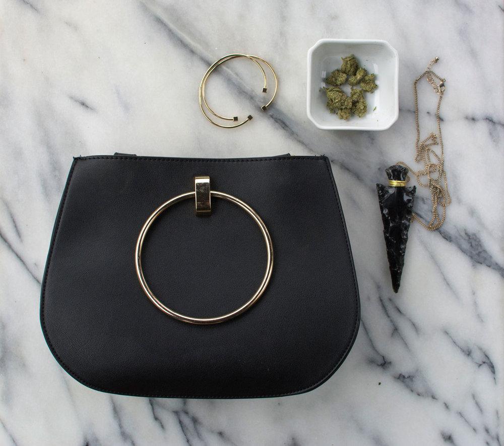 purse-obsidian-bracelet-flatlay-greenandgold.jpg