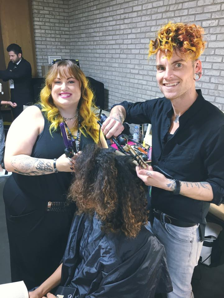 Redken Artist, Natalie Alana and Jake Walker