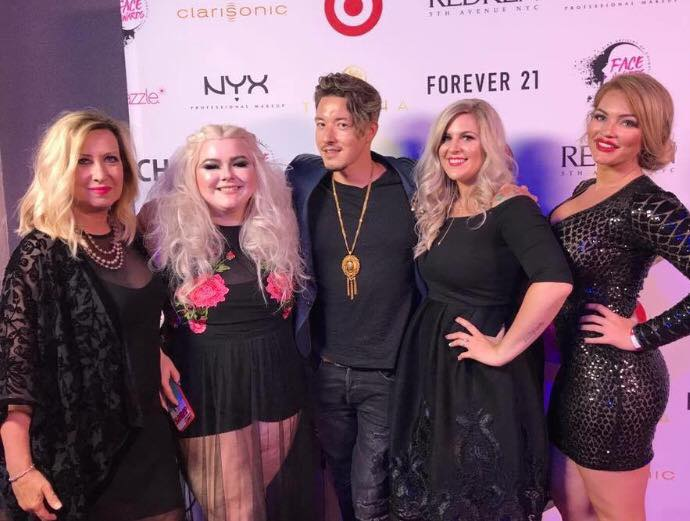 Red Carpet Redken Ready at the 6th annual NYX Face Awards