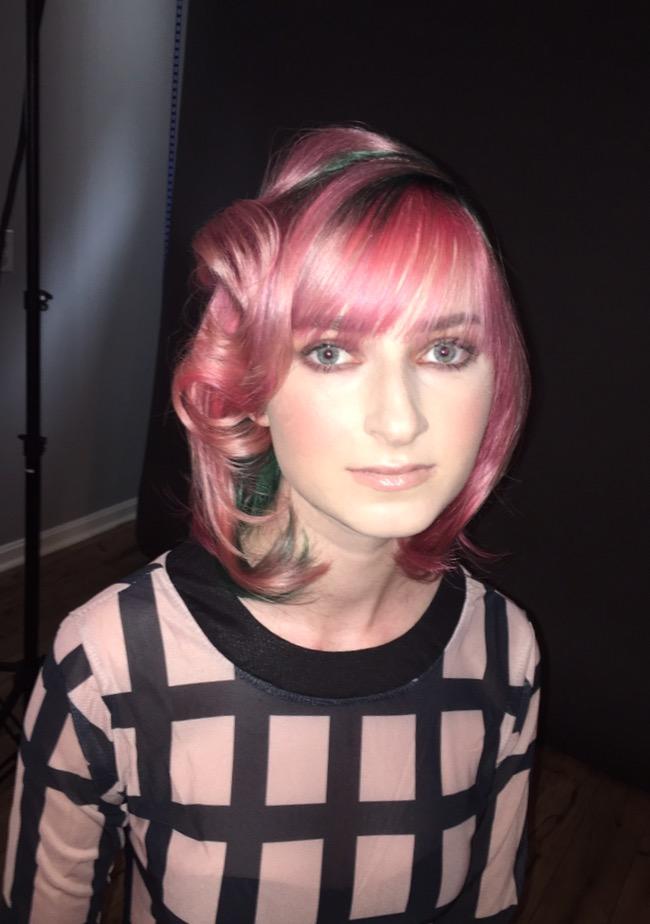 After model Perri