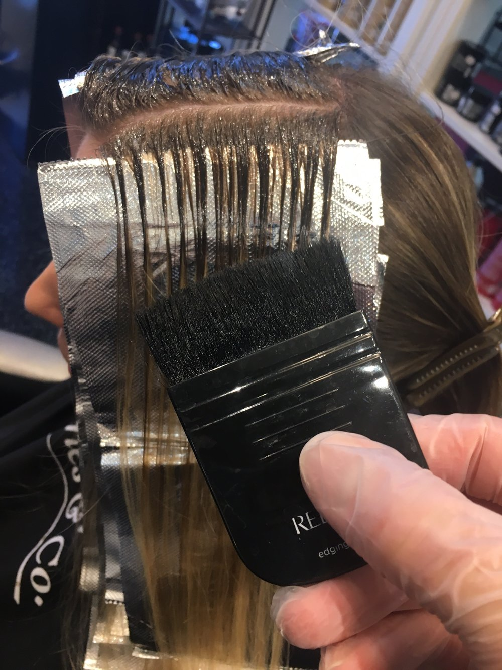 "Redken ""Edging"" brush"