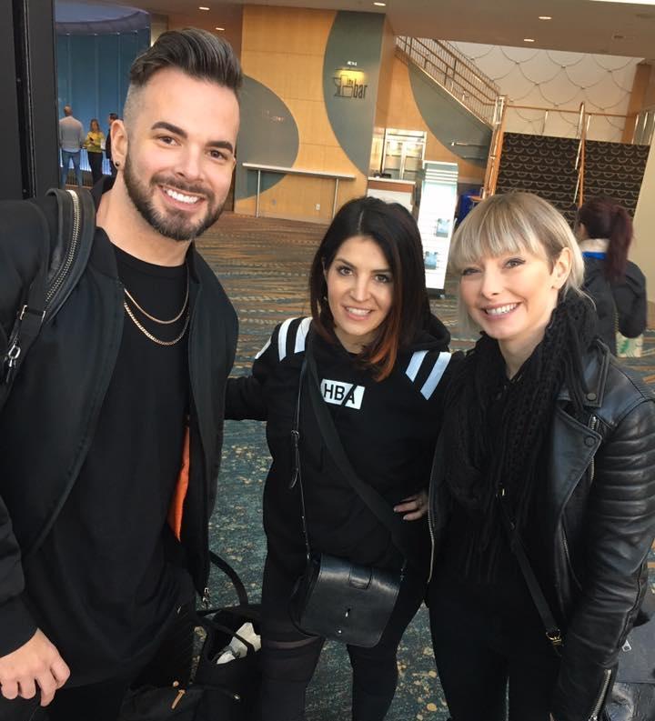Sean, Veronica and Tara