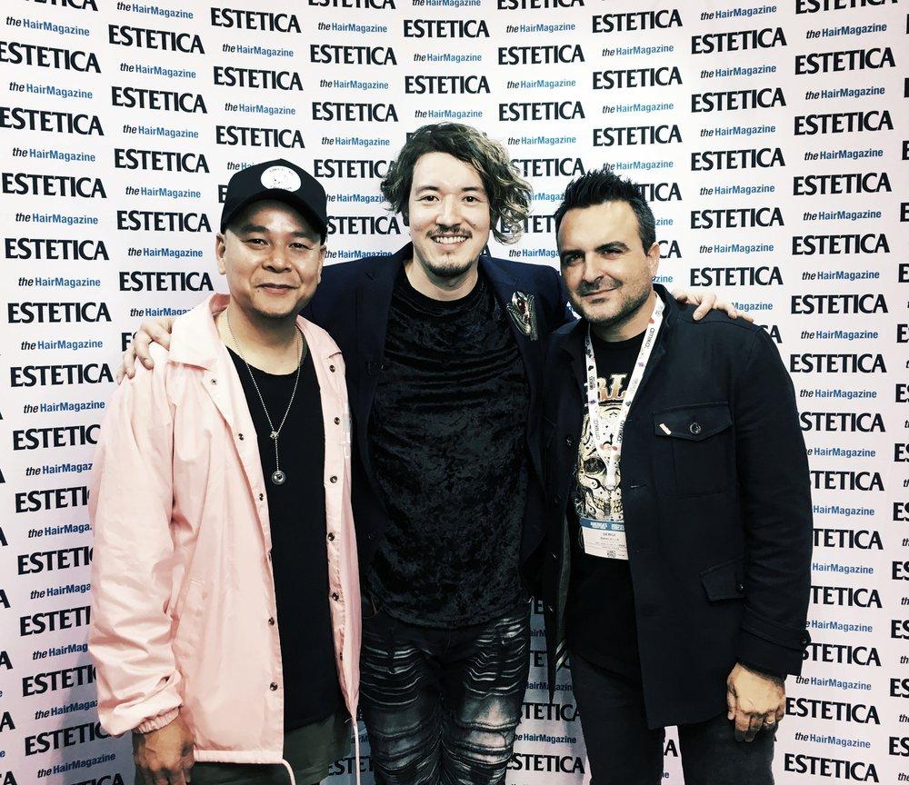 with Estetica editor Sergi Bencells