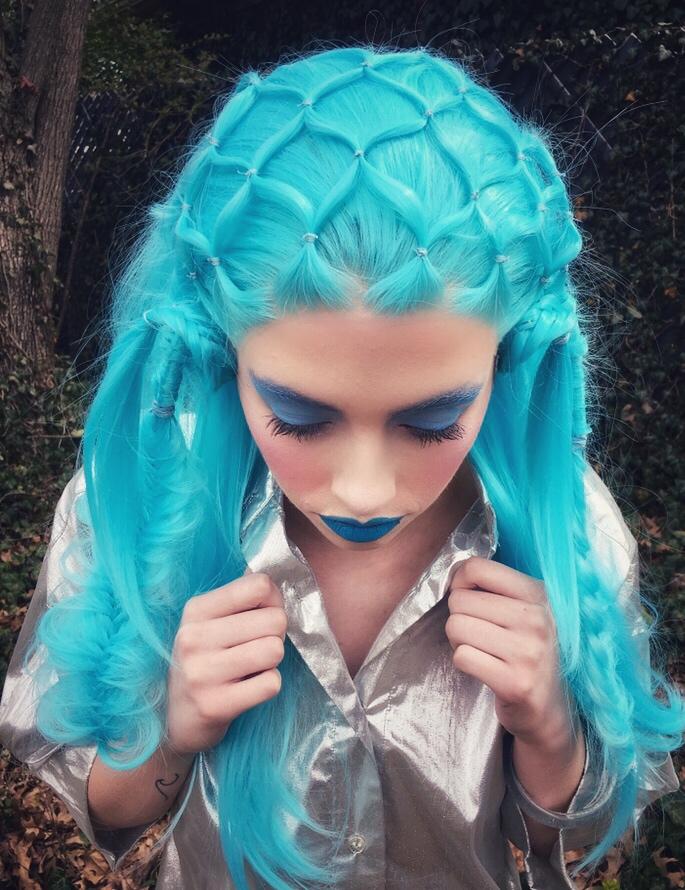 """Alli's hair """"Veil"""""""