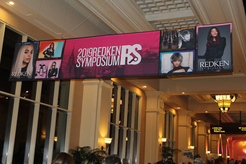 Las Vegas, Redken has arrived!!