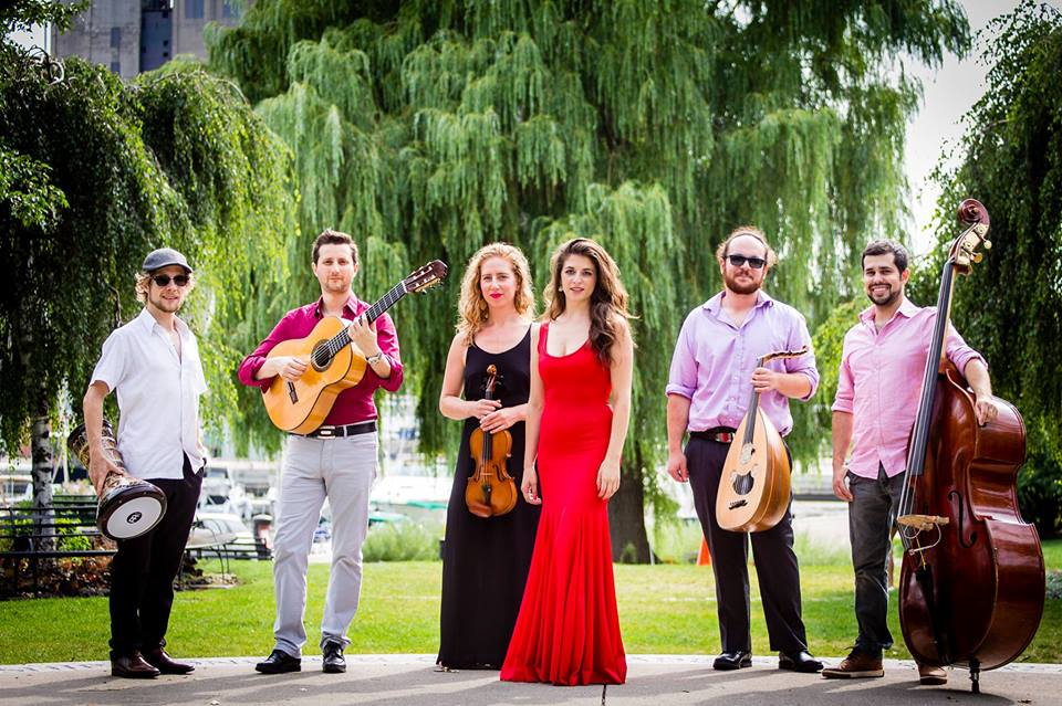Tamar Ilana - vocals/dance Demetrios Petsalakis -oud/baglama/lyra/riqq Jessica Hana Deutsch - violin/vocals Derek Gray - percussion Benjamin Barrile - flamenco guitar Justin Gray - double bass