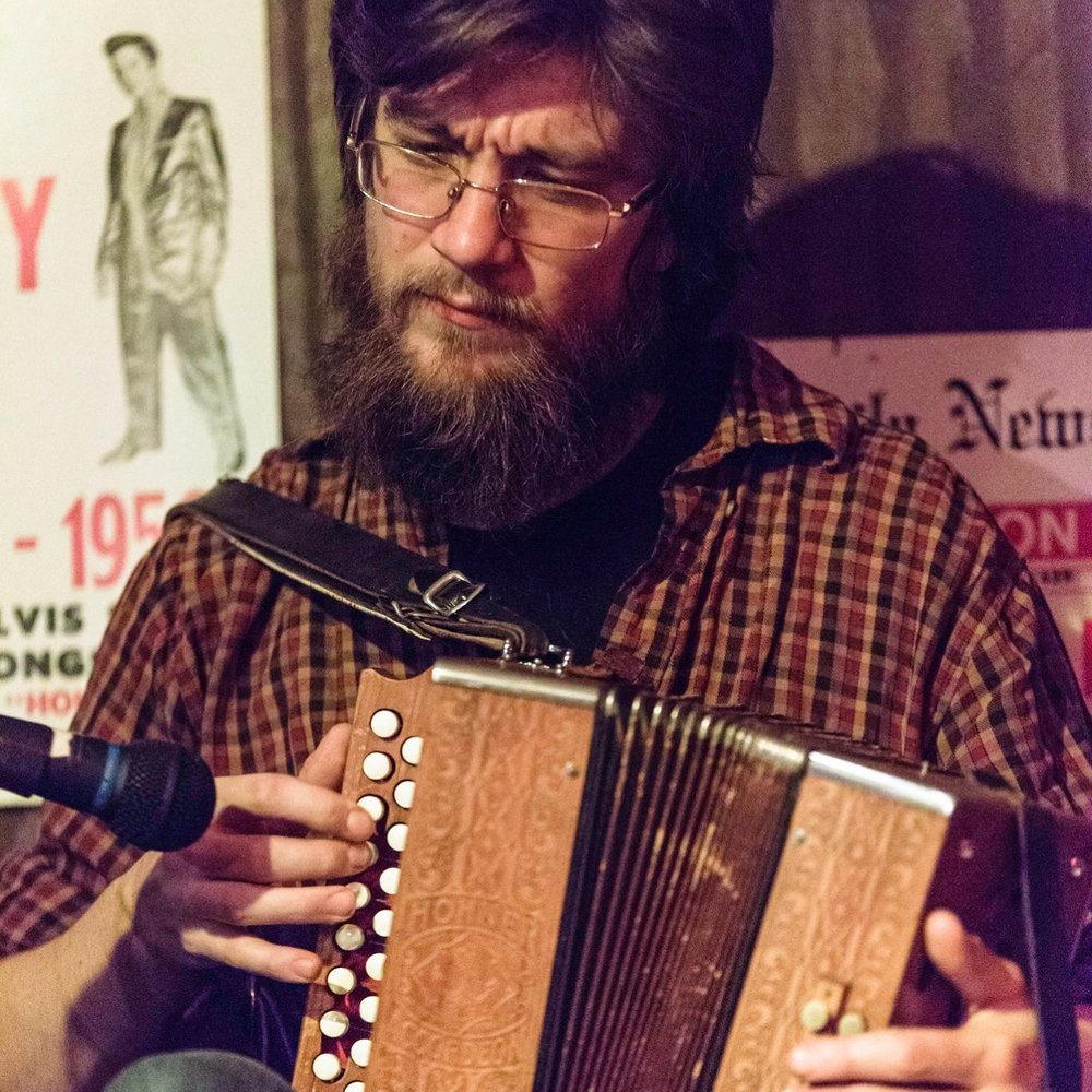 JOHN D. WILLIAMS   Button Accordion