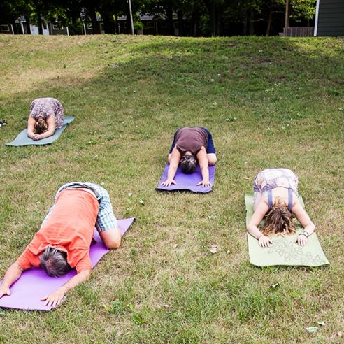 YOGA - WITH JOHANNA PAQUINYoga is a union of body and breath. These sessions are designed for an ever-curious beginner and well-seasoned yoga folks alike.Please bring your mat, blanket/towel and an open mind. Morning and Afternoon sessions.