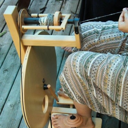 FIBRE SPINNING* - WITH JOHANNA KOESLAGLearn the basics of spinning wool into yarn. Learn about wool and its preparation, from combing and carding, to felting. You'll be guided in spinning on a wheel, but drop spindles are also available. No experience necessary. Beginners welcome.