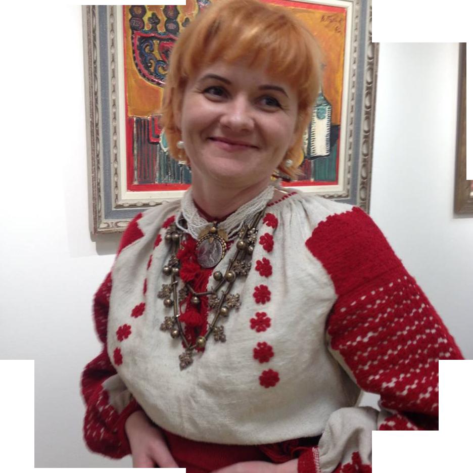MYROSLAVA BOIKIV  (Ukraine) • Embroidery • Weaving • Straw Craft • Pysanky