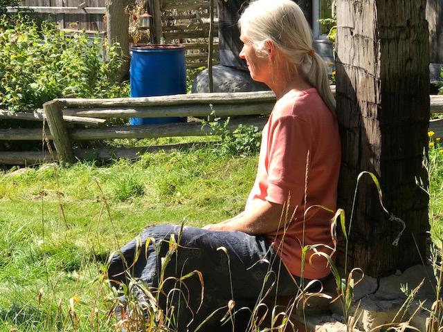 JOHANNA KOESLAG - Spinning, Ukrainian Weaving