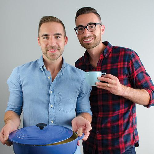 Husbands Daniel (left) & Steve (right)