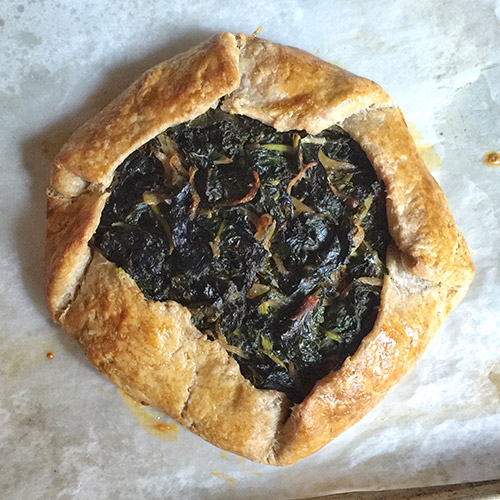 Lukas Volger Greens Galette Click for recipe and blog