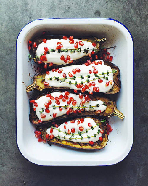 What foodie wouldn't recognize this as the trademark cover dish from Yotam Ottolenghi's  Plenty?