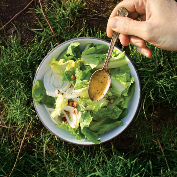 Escarole Salad With Fennel And Hazelnuts