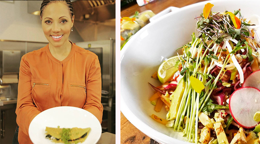 Images courtesy Nina's instagram:   @botanicalchef