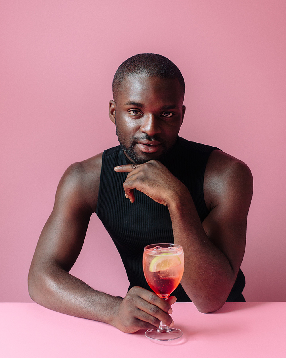 Darkwah Kyei-Darkwah,    @hausofdarkwah       Occupation:  Fashion Editor,  Gay Times Guilty pleasure:  Twix   Virtuous pleasure:  Gymming