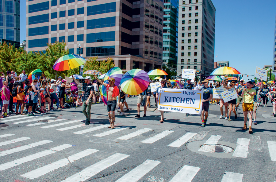 June 2018 Salt Lake City Pride Parade