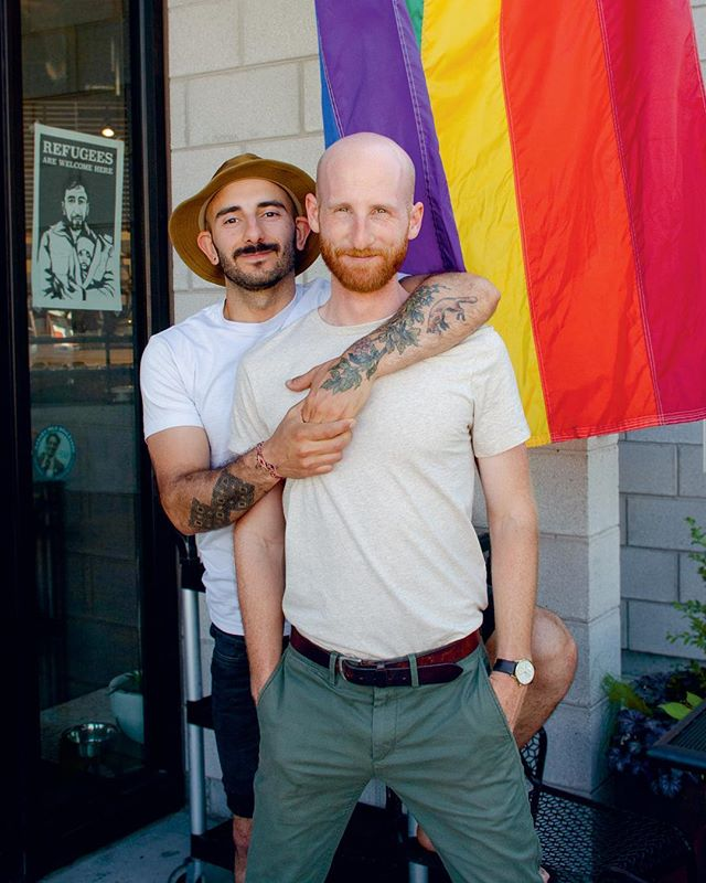 """Salt Lake City, for as long as I've known it, which is only 10 years, has always been queer,"" says Moudi Sbeity (@moudi.sbeity) of @lazizslc. ""The Queer Food Festival [happening this Saturday!] will be the first of its kind in Salt Lake, and that is a testament to our growing city."" We're beyond excited to head back this weekend to join Moudi, his husband, Laziz co-owner, and newly-elected Utah State Senator Derek Kitchen (@derekkitchen), the @utahpridecenter, as well as a fantastic lineup of SLC's queer chefs and food businesses (tagged above) to present the first-ever Queer Food Festival this Saturday, March 24th, to benefit Utah Pride Center. Read our full Jarry Briefs Q+A with Moudi and Derek, up now on jarrymag.com, to get more details for the night—which will include food and drink tastings, local drag performances, DJ, and dancing. SLC, party with you soon! /// #jarrytype #jarrybriefs #jarry06 #queerfoodfestivalslc"