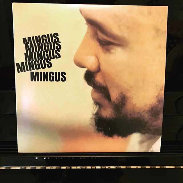 Current office tunes. #mingus